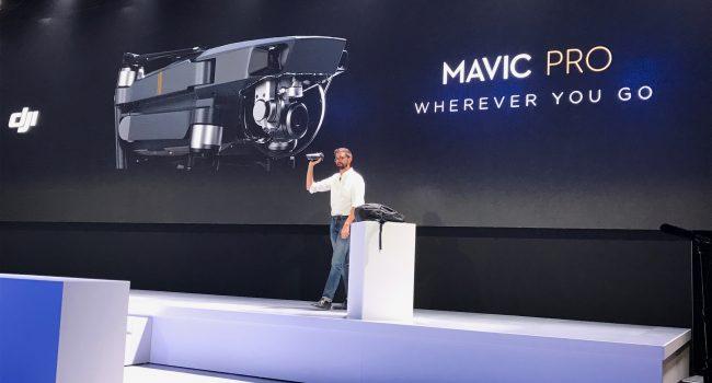 DJI Announces Mavic Pro
