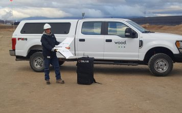 Wood Adopts Delair UX11 For Large Scale Mine Surveying And Quantity Measuring